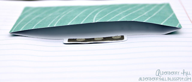 1 pm012 DIY: Altered Notebook with Mini File Folders