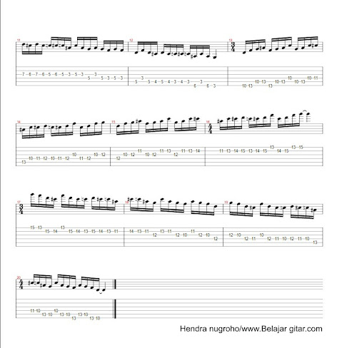 Latihan blues minor 2 - page 2