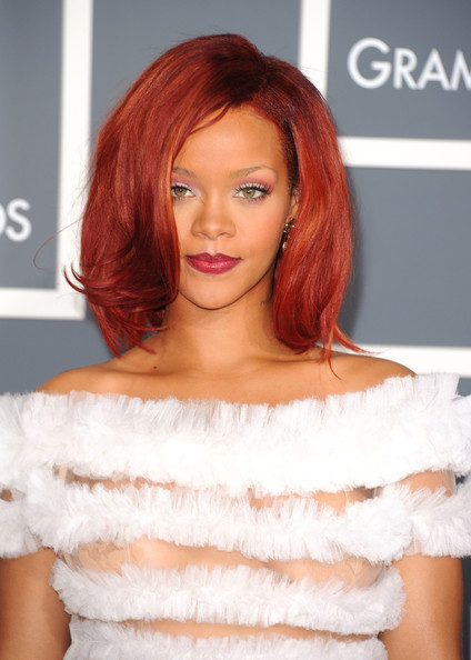 Rihanna walks the red carpet