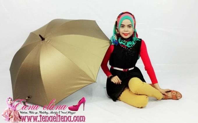payung yang awesome dari Lily Sdn Bhd