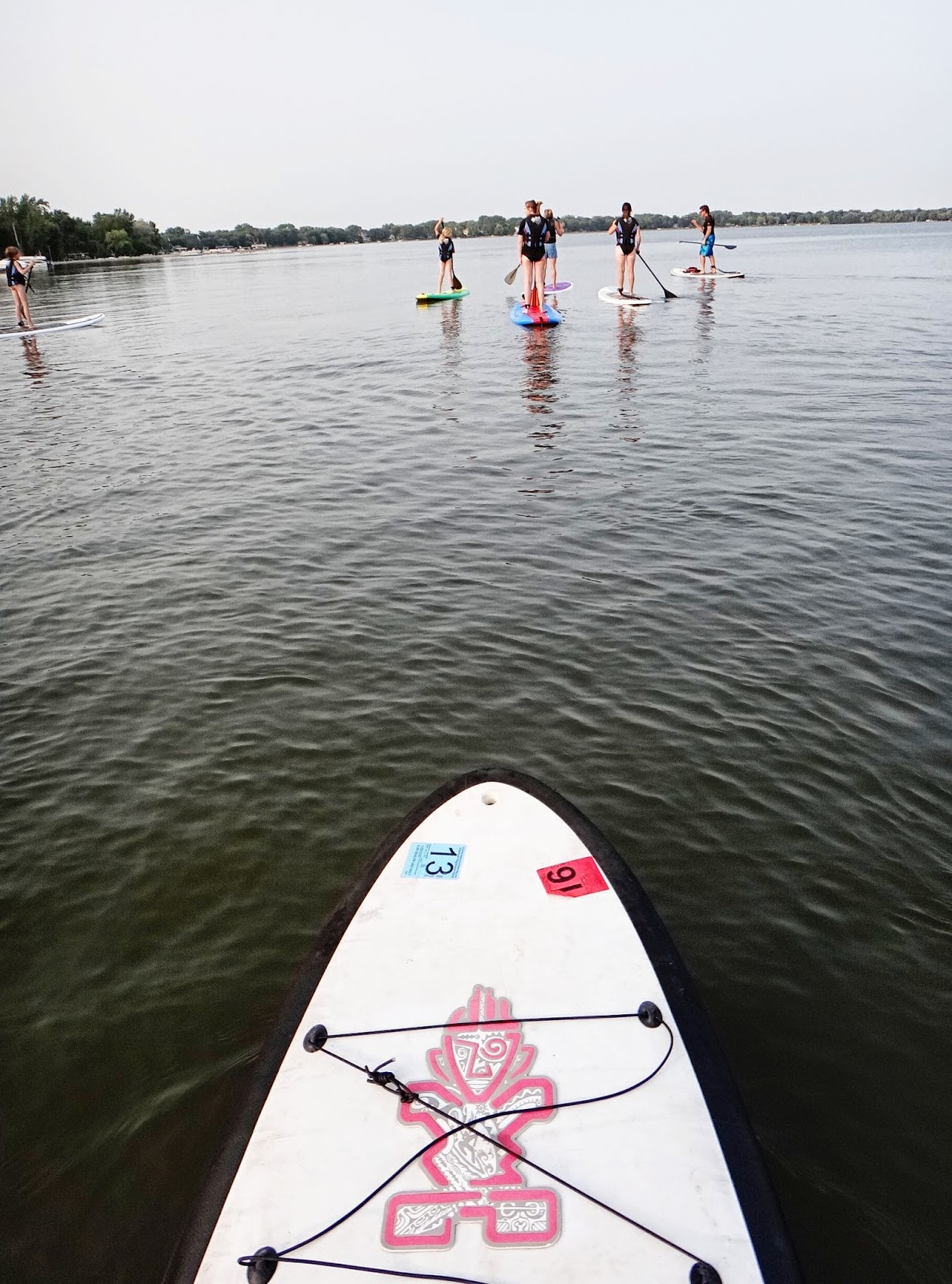 standup paddle boarding, Minnesota, Lakes