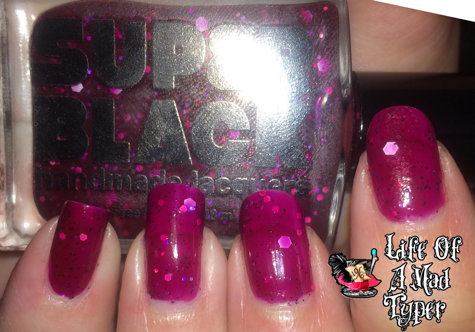 Super Black Lacquer Framboise