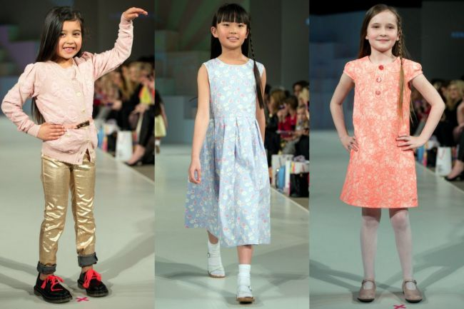 moda infantil decada de 50