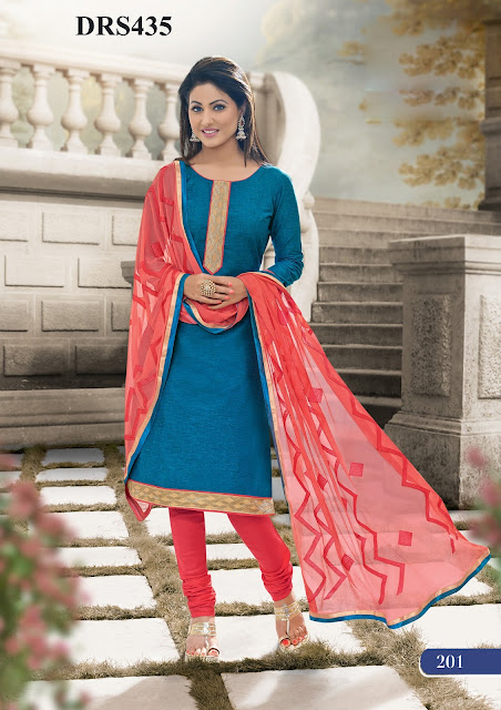 Hina Khan Cotton Dress Material – Exporter