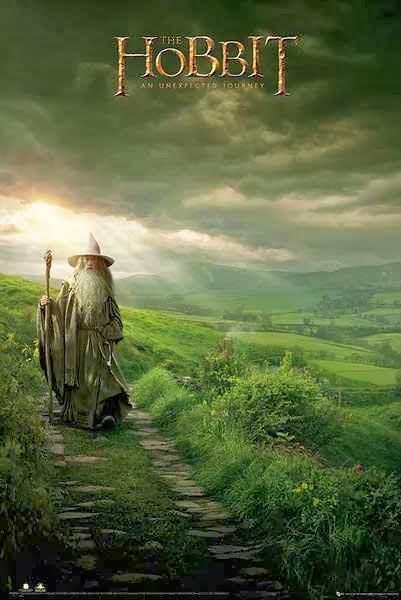 Poster El Hobbit Gandalf