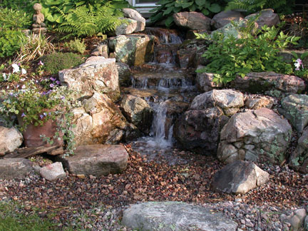 Pondless Water Feature