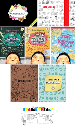 KOLEKSI BUKU CONTENG