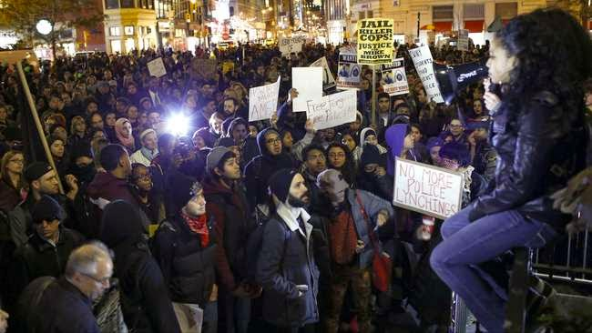 Demo Rusuh di Amerika Serikat, Polisi Tangkap Ratusan Pendemo