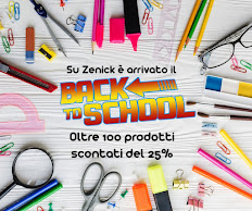 BACK TO SCHOOL su Zenick.it