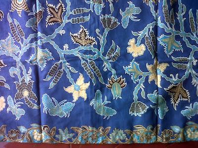 Kain batik motif cakar cap cibulan