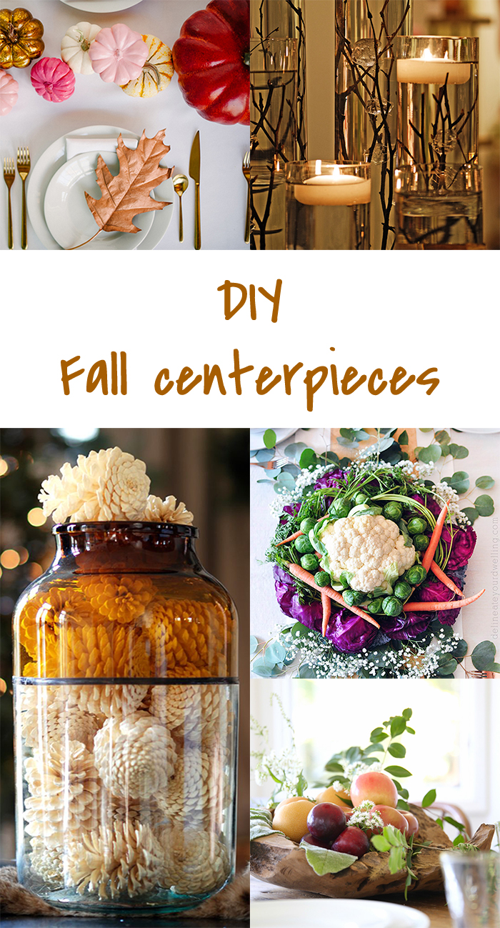 Diy to try fall centerpieces ohoh