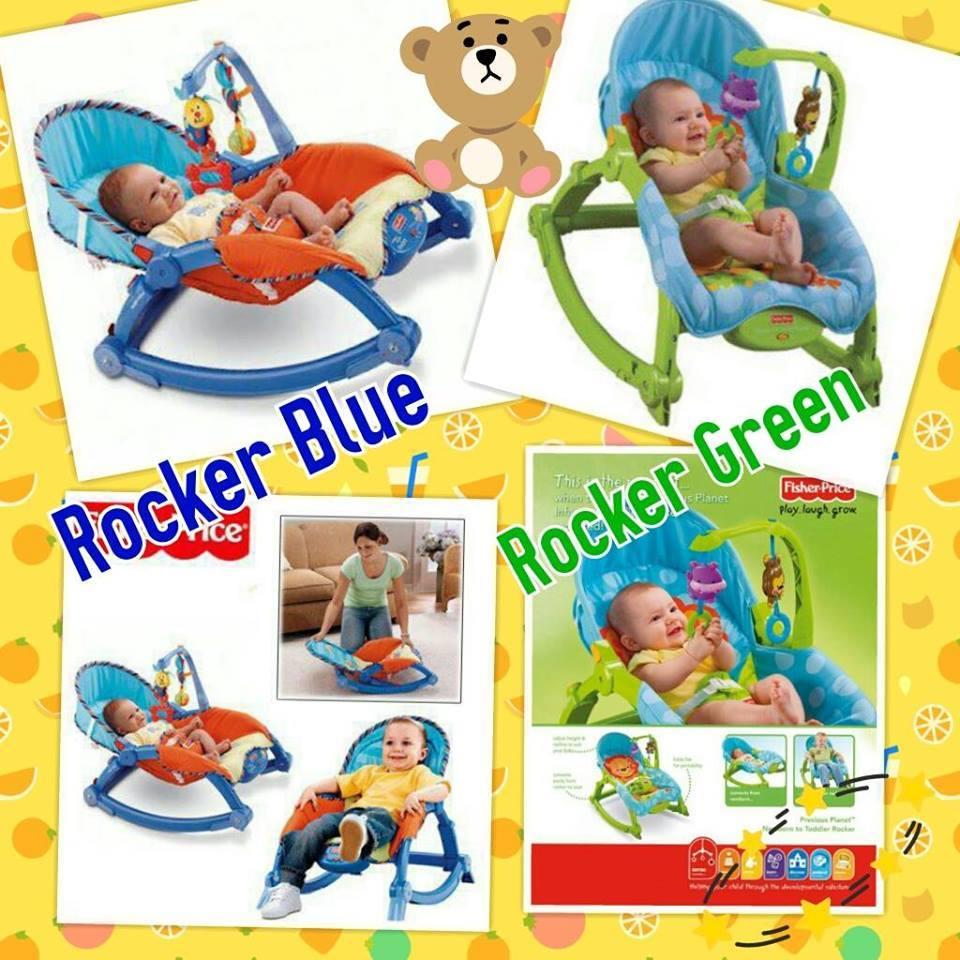 fisher price newborn to toddler rocker manual