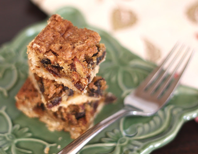 Butter Tart Squares - Gluten Free or Not recipe by Barefeet In The Kitchen