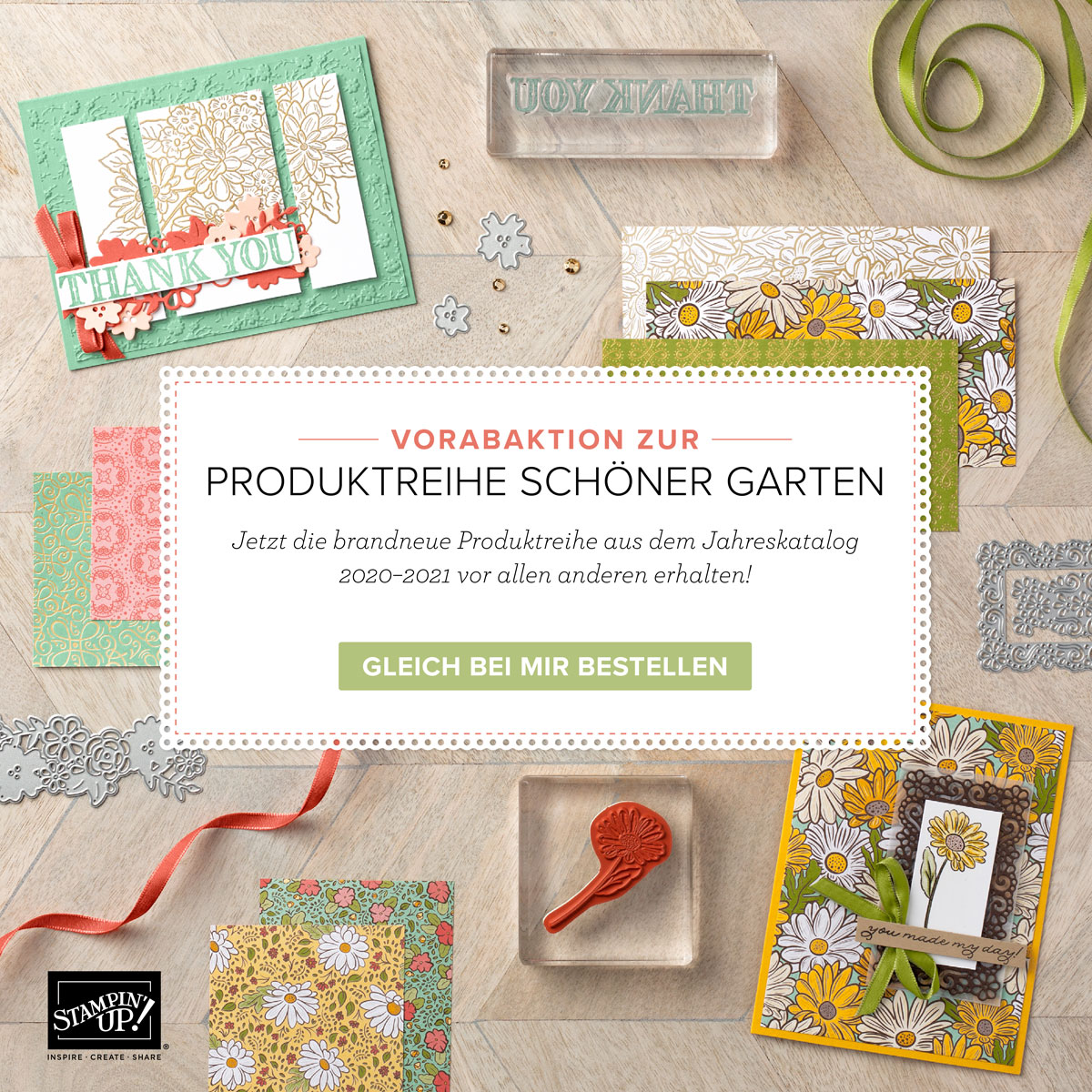 """Vorabaktion """"Schöner Garten"""" - ab sofort bestellbar!"""