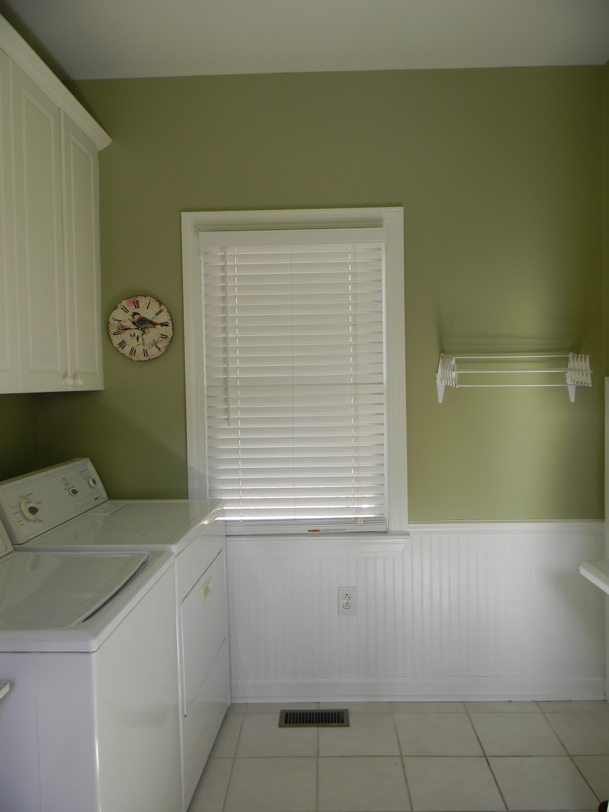 Positively southern the laundry room for Koi pond color