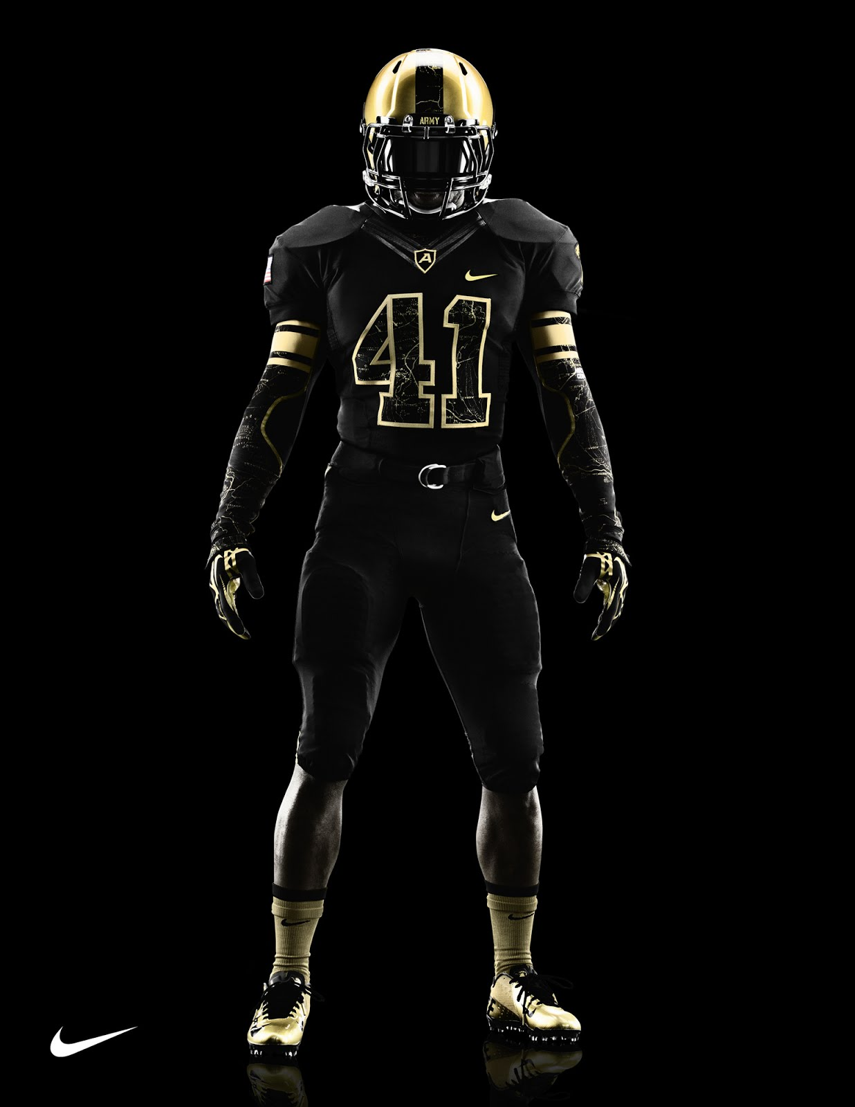 Awesome new Army and Navy football uniforms by Nike
