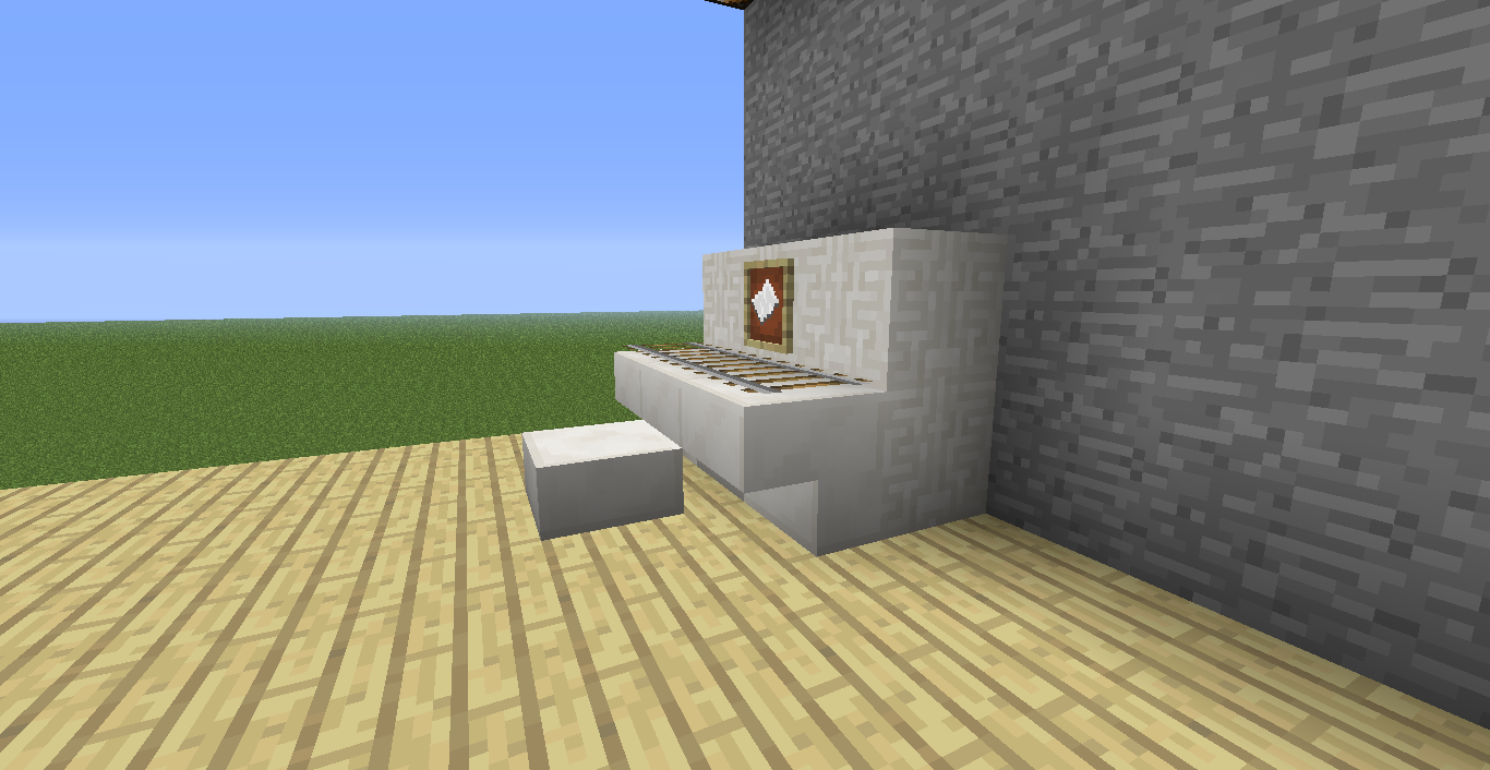 Minecraft muebles y decoraci n en minecraft sin mods for Decoraciones para hacer en casa