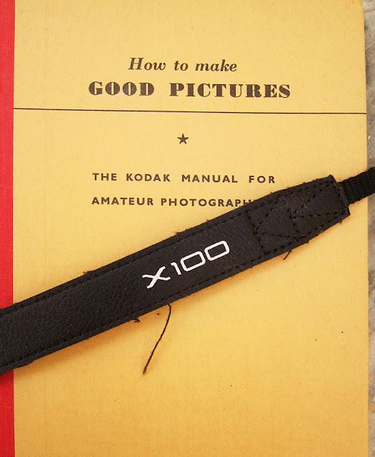 Fujifilm X100 camera strap