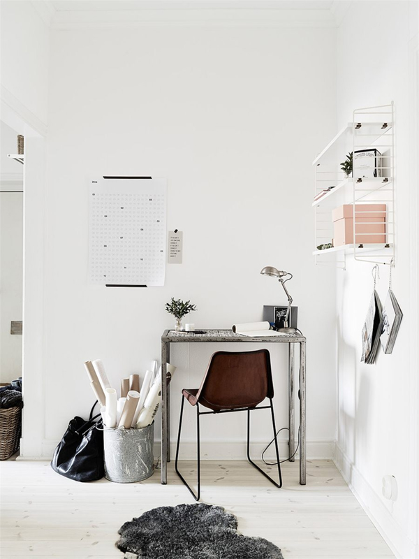 Life As A Moodboard Work Space SCANDINAVIAN STYLE