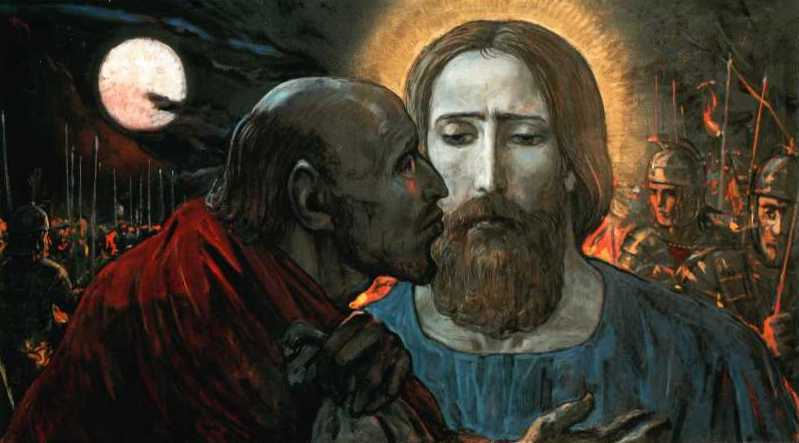 Why did Judas betray Jesus? Foretold in the Old Testament?