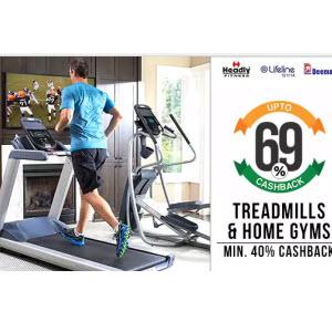 PayTM : Buy Fitness Equipments 51% Cashback  only