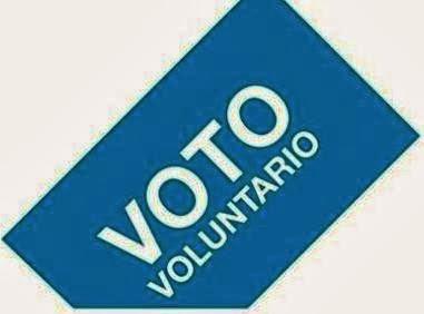 Ventajas, Desventajas, Voto, Voluntario