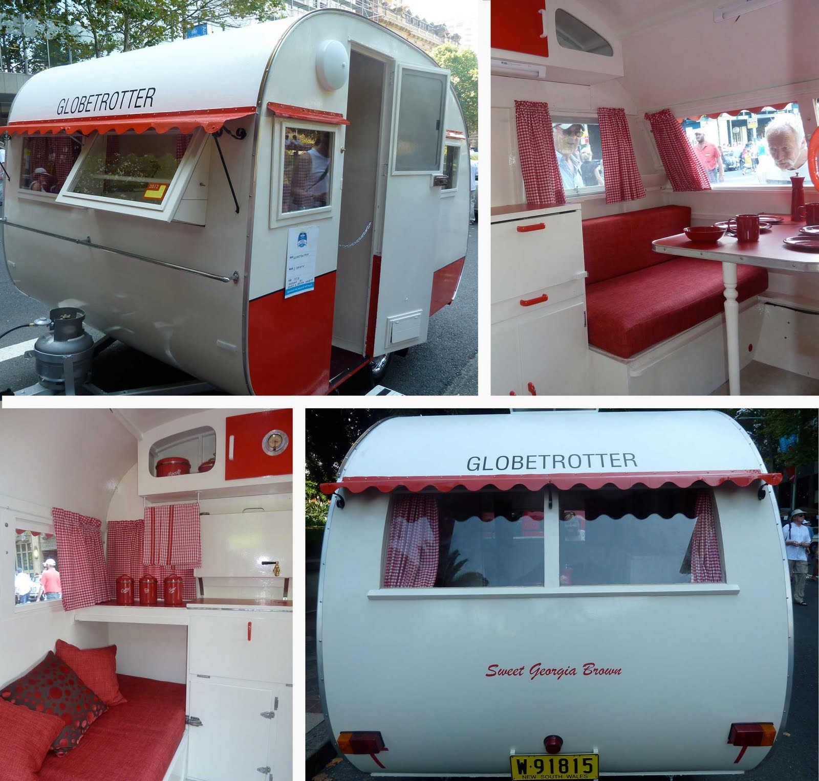 Before to after everything in between vintage camper for Small caravan interior designs