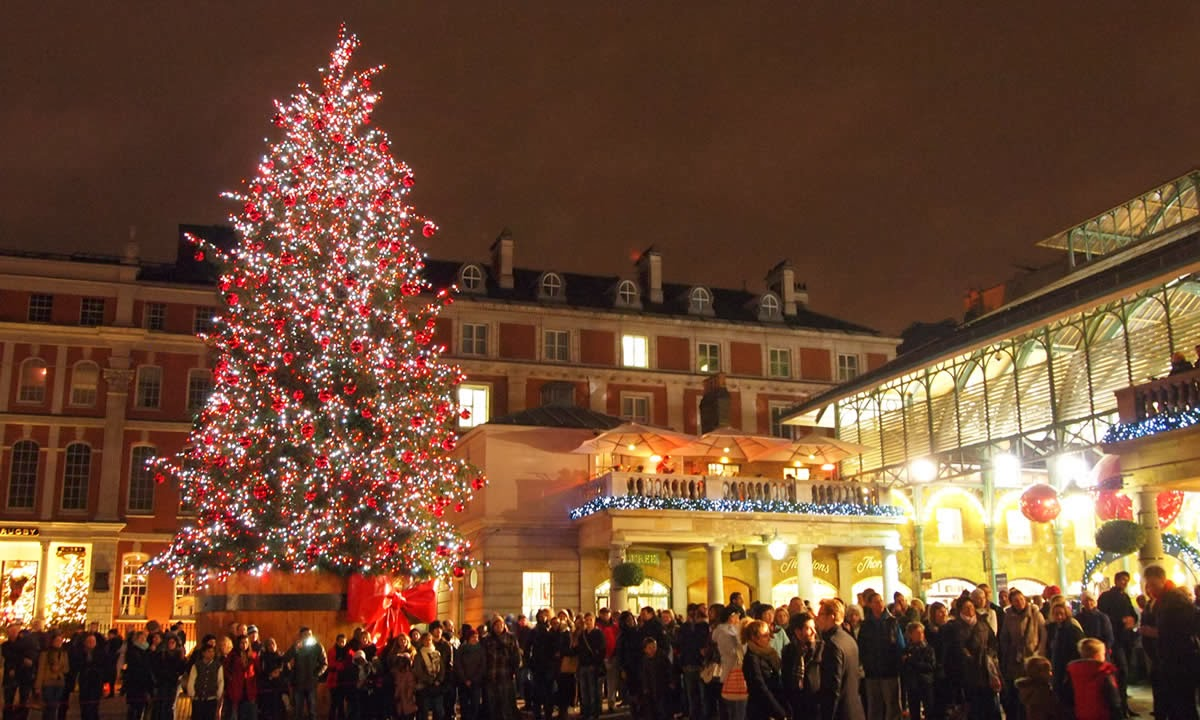 City rooms christmas markets in london for Garden trees london