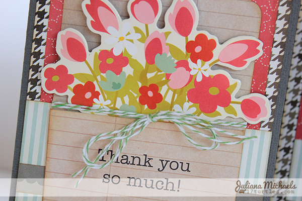 Front Porch Thank You Card by Juliana Michaels detail
