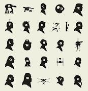 キャラクターの名前とアルファベットがうまく重なっているのがとても面白い!