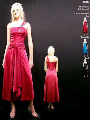 Red+One+Shoulder+Length+Prom+Dress