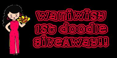 Waniwisy 1st DOODLE GiveAway!!!