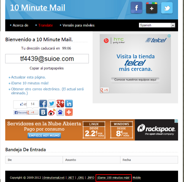 10minutemail.net