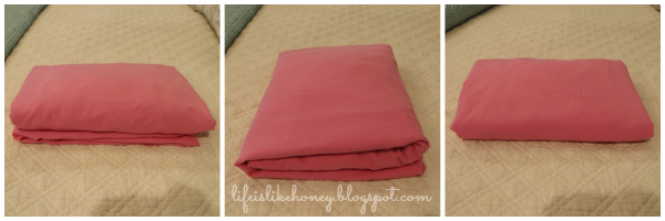 Life Is Like Honey How To Fold A Fitted Sheet