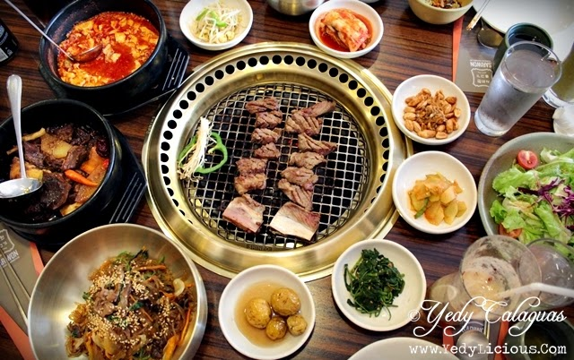 Korean Feast at Sariwon Korean Barbecue