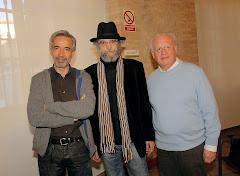 Con Imanol y Echanove