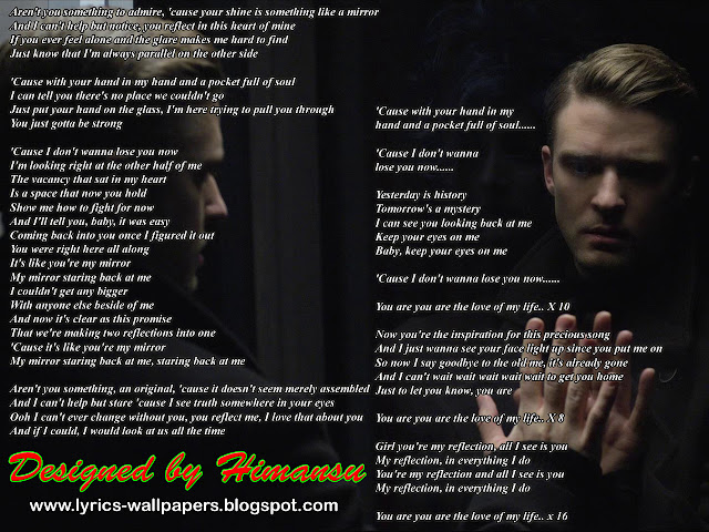 Lyrics Wallpapers: Justin Timberlake - Mirrors Justin Timberlake Song