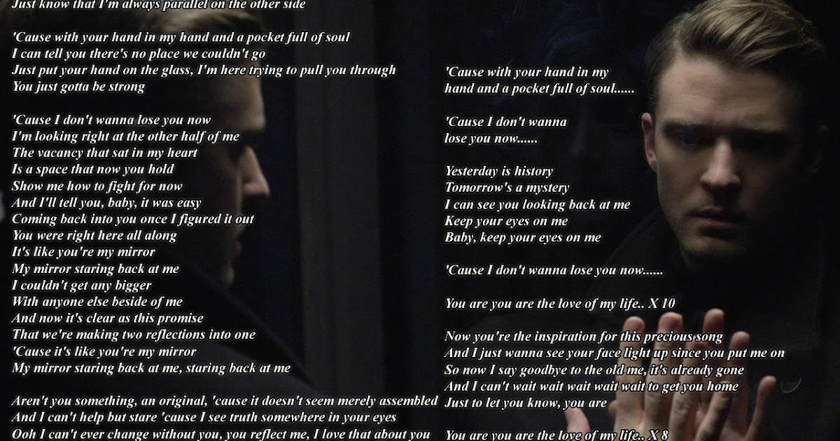 Justin timberlake wallpaper 2013 mirrors for Mirror mirror lyrics