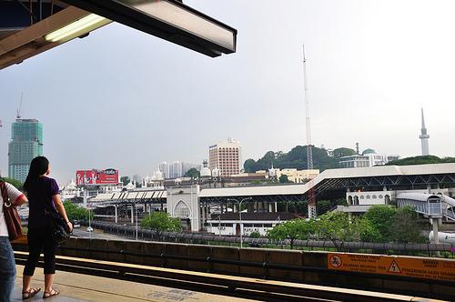 Riding the Women Only Train in Kuala Lumpur