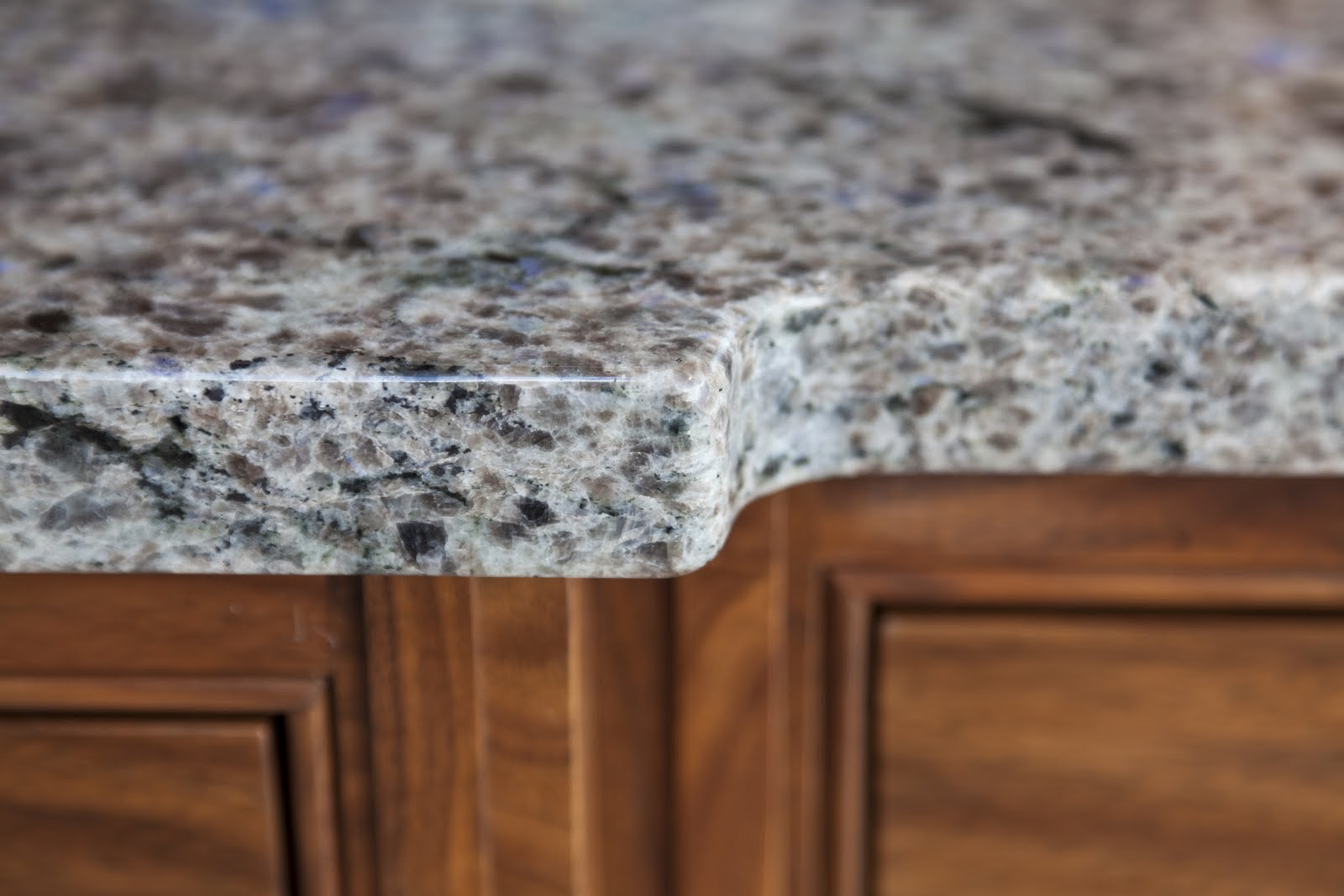 Blue Eyes' granite worktops supplied by Ivett & Reed of Cambridge