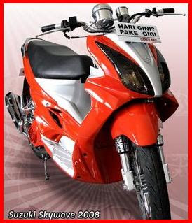 Gambar Foto Modifikasi Motor Terbaru Suzuki Skywave.jpg