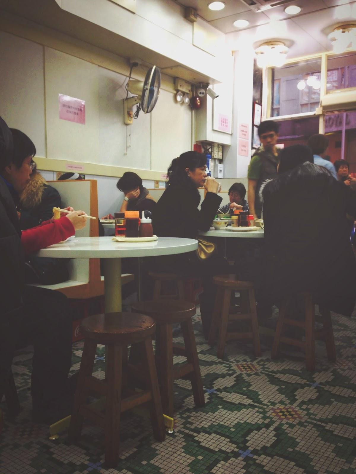 Mak Man Kee Noodle Shop Interior Parkes St, Jordan, Hong Kong