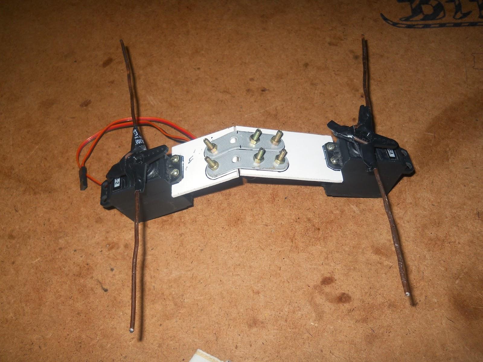 Robo zone arduino based quadruped robot using servos