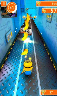 Screenshots of the Despicable Me Minion Rush for Android tablet, phone.