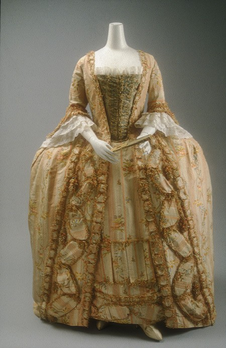 18th Century Costume - Robe a la Francais - Fancy Dress