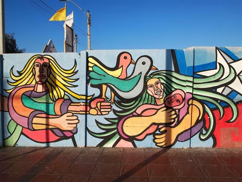 Mural Homenaje a la Mujer (Caldera)
