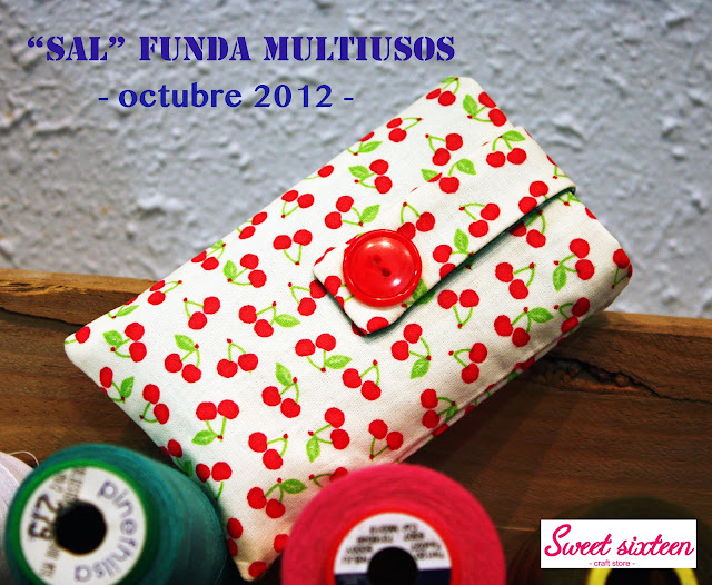 SAL FUNDA MULTIUSOS Sweet sixteen