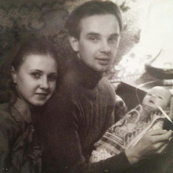 Lena Katina with roditelyami