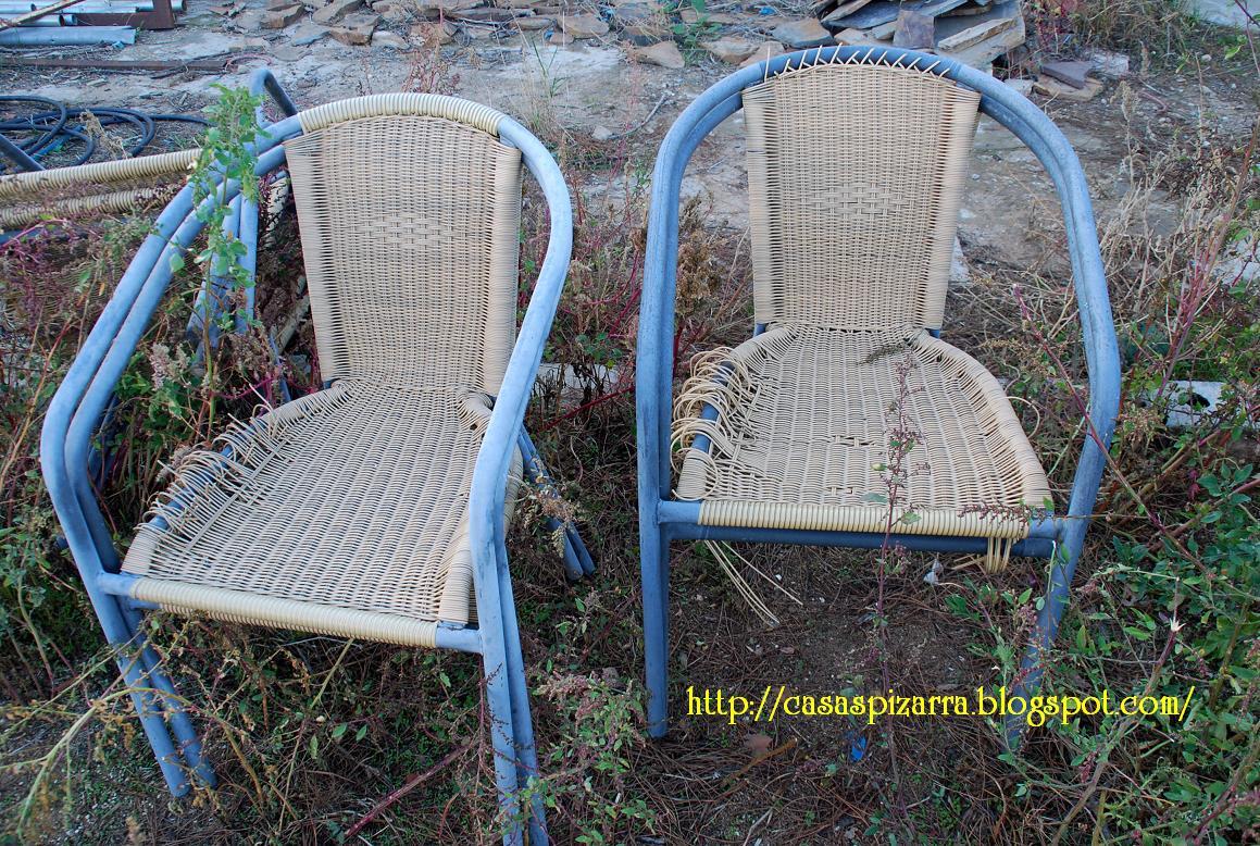 Casas de pizarra arreglo de sillas de jard n - Sillas de jardin de plastico ...