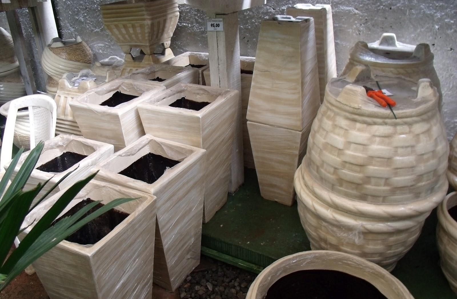 plantas jardins vasos : plantas jardins vasos:Fênix Plantas e Jardins: Vasos de Cimento – Resistência a toda prova